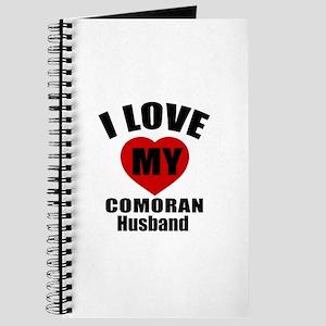 I Love My Comoran Husband Journal