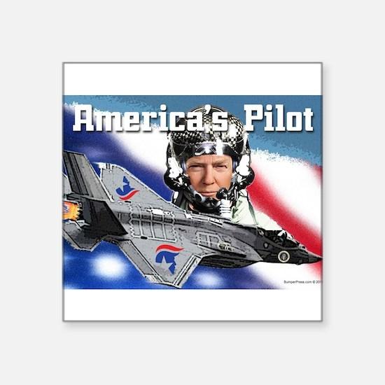 America's Pilot Sticker