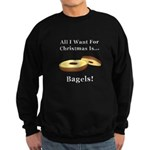Christmas Bagels Sweatshirt (dark)
