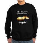 Christmas Bagels Sweatshirt (dark)