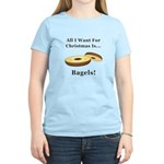 Christmas Bagels Women's Light T-Shirt