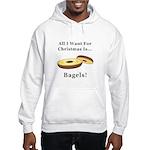 Christmas Bagels Hooded Sweatshirt