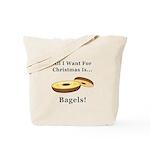 Christmas Bagels Tote Bag