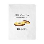 Christmas Bagels Twin Duvet