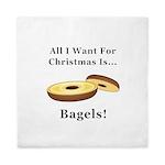 Christmas Bagels Queen Duvet