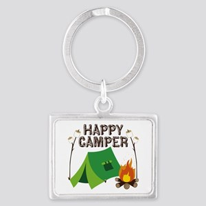 Happy Camper Keychains