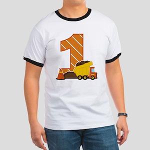 Construction 1st Birthday T-Shirt
