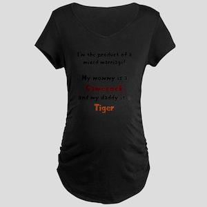 MATERNITY CUT (belly print) T-Shirt Maternity T-Sh