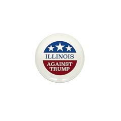 Illinois Against Trump Mini Button