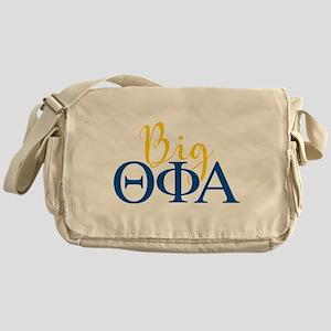 Theta Phi Alpha Big Letters Messenger Bag