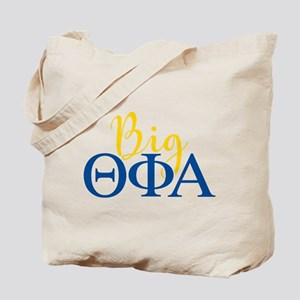 Theta Phi Alpha Big Letters Tote Bag