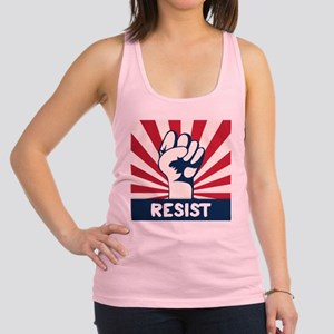 RESIST Fist Racerback Tank Top