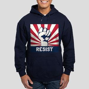 RESIST Fist Hoodie (dark)