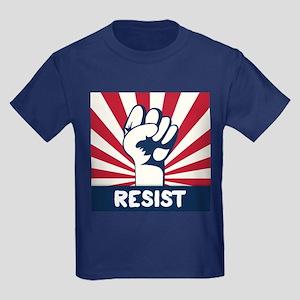 RESIST Fist Kids Dark T-Shirt
