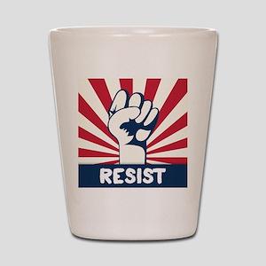 RESIST Fist Shot Glass