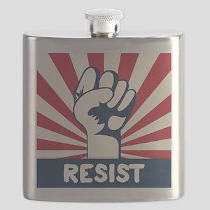 RESIST Fist Flask
