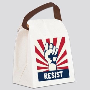 RESIST Fist Canvas Lunch Bag