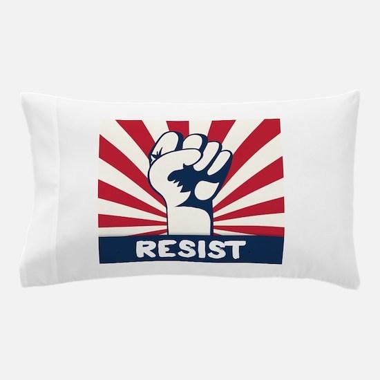 RESIST Fist Pillow Case