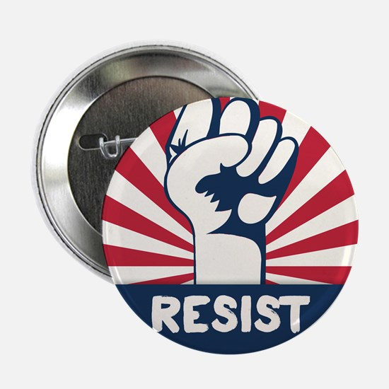 "RESIST Fist 2.25"" Button"