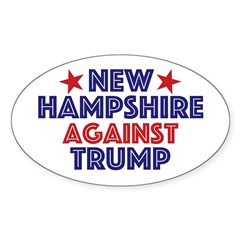 New Hampshire Against Trump Decal