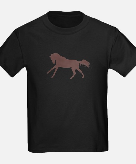 brown galloping horse T-Shirt