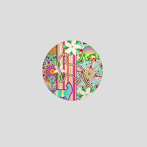 Mandalas, Cats & Flowers Fantasy Pattern Mini Butt