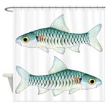Congo Barb Shower Curtain