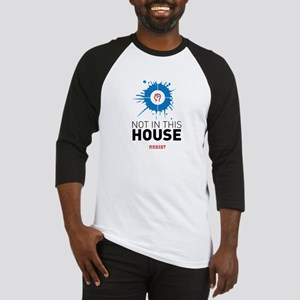 Not in this house / resist Baseball Jersey