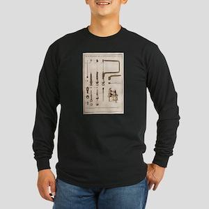 Coping Saw Engraving Long Sleeve T-Shirt