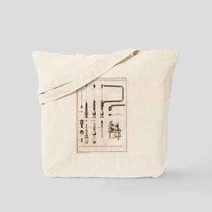 Coping Saw Engraving Tote Bag