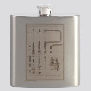 Coping Saw Engraving Flask
