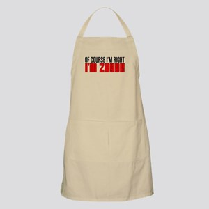 I'm Right I'm Zayde Apron