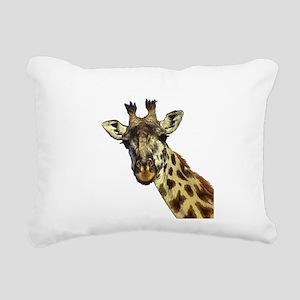 GIRAFFE Rectangular Canvas Pillow
