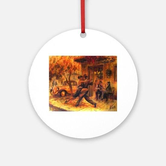 Tango Round Ornament