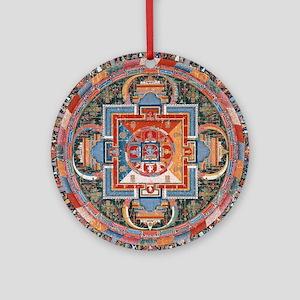Buddhist Mandala Round Ornament