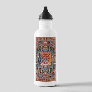 Buddhist Mandala Water Bottle