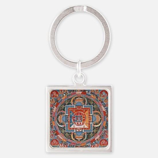 Buddhist Mandala Keychains