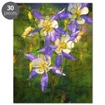 Colorado Blue Columbine Puzzle