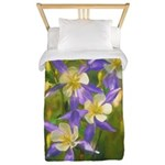 Colorado Blue Columbine Twin Duvet