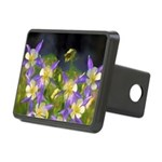 Colorado Blue Columbine Rectangular Hitch Cover