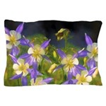 Colorado Blue Columbine Pillow Case