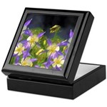 Colorado Blue Columbine Keepsake Box