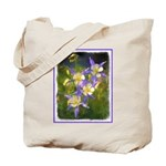 Colorado Blue Columbine Tote Bag