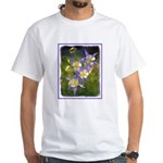 Colorado Blue Columbine White T-Shirt