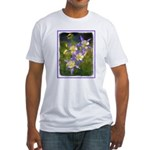 Colorado Blue Columbine Fitted T-Shirt