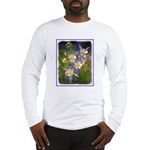 Colorado Blue Columbine Long Sleeve T-Shirt