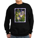 Colorado Blue Columbine Sweatshirt (dark)