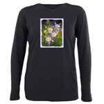 Colorado Blue Columbine Plus Size Long Sleeve Tee