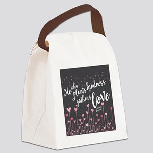 Gathers Love Canvas Lunch Bag
