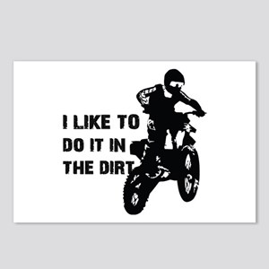 I Like To Do It In The Dirt Postcards (Package of